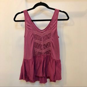 Urban Outfitters Purple Tank Top